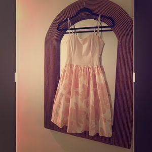 H&M Ballerina Pink Corset/Spaghetti Strap Dress